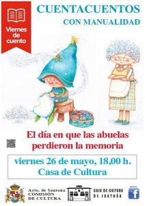 """Cuenta cuentos en Santoña: """"El día en que las abuelas perdieron la memoria"""""""
