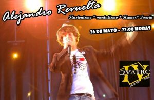 El mago Alejandro Revuelta actúa en Laredo