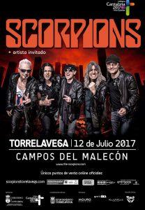 SCORPIONS en concierto en Santander