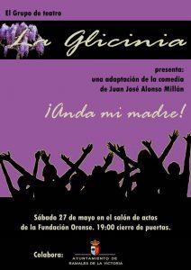 Teatro ¡Anda mi madre! en Ramales