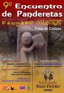 9º Encuentro de Panderetas en la Casa de Cultura de Colindres