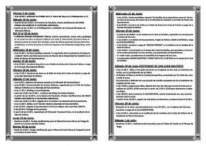 Programación cultural en Colindres y FIESTAS DE SAN JUAN 2017