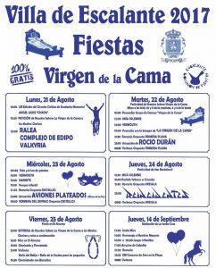 Fiestas de La Virgen de la Cama en Escalante 2017