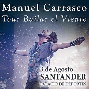 Concierto de Manuel Carrasco en el Palacio de Deportes de Santander
