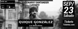 Quique González y los Detectives en Santander