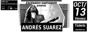 Andrés Suárez en Santander