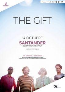The Gift en concierto en Santander