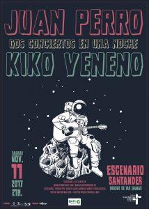 Juan Perro + Kiko Veneno en concierto en Santander