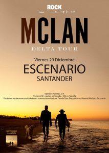 Concierto de M Clan en Santander