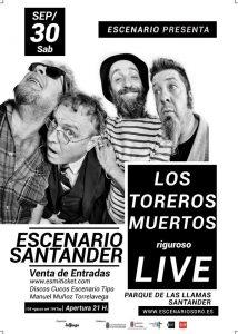 Los Toreros Muertos en concierto en Santander