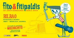 Fito & Fitipaldis en concierto en Bilbao