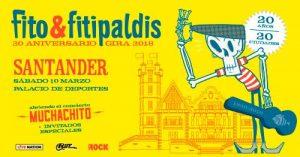 Fito & Fitipaldis en concierto en Santander