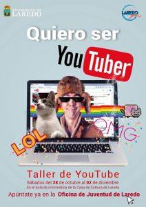 'Quiero ser Youtuber'. Taller en Laredo