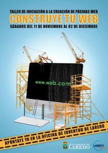 'Construye tu web'. Taller de creación de páginas web en Laredo