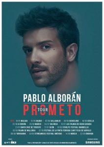 Pablo Alboran en concierto en Bilbao
