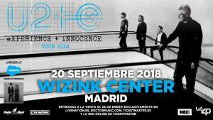U2 en concierto en Madrid