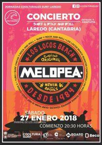 Concierto SURF & ROCK AND ROLL en Laredo (Melopea)