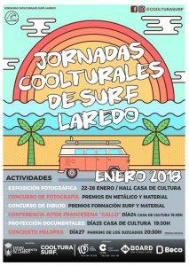 Jornadas COOLTURALES de SURF en Laredo
