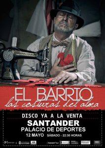 El Barrio en concierto en Santander