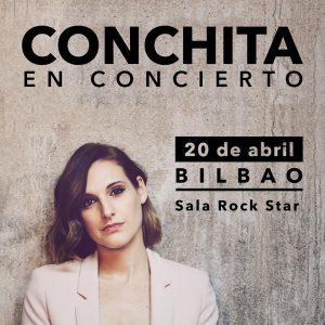 CONCHITA en concierto en Bilbao