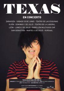 TEXAS conciertos en ESPAÑA