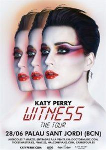 Katy Perry único concierto en España en Barcelona