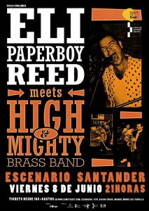 Eli Paperboy Reed con HIGH & MIGHTY BRASS BAND