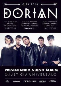 DORIAN en concierto en Bilbao