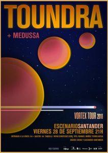 Toundra + Medussa en concierto en Santander