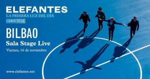 Elefantes en concierto en Bilbao