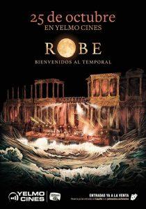 Yelmo Cines estrenará el próximo 25 de octubre la película Robe.