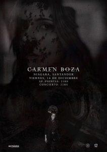Carmen Boza en concierto en Santander