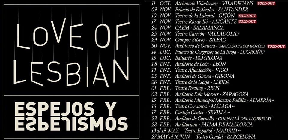 Love Of Lesbian en concierto en Bilbao