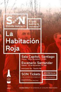 La Habitación Roja en concierto en Santander