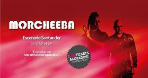 MORCHEEBA en concierto en Santander