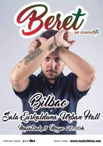 BERET en concierto en Bilbao