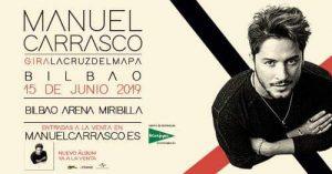 Manuel Carrasco en concierto en Bilbao