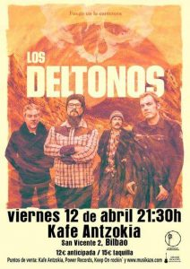 Los DelTonos en concierto en Bilbao