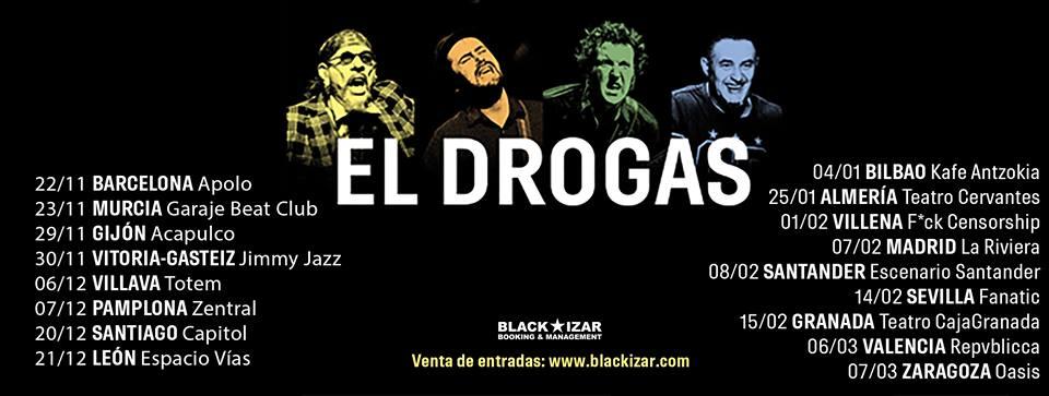 El Drogas en Santander