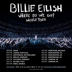 Billie Eilish concierto en España