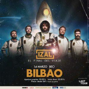 IZAL en concierto en Bilbao