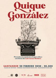 Quique González en concierto en Santander