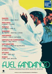 FUEL FANDANGO en concierto en Bilbao