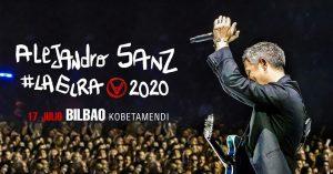 Alejandro Sanz en concierto en Bilbao