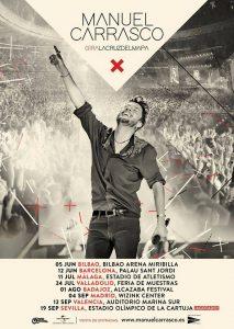 Manuel Carrasco en concierto en Bilbao @ Bilbao Arena Miribilla