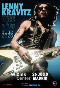 Lenny Kravitz concierto en Madrid