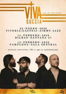 Viva Suecia en concierto en Bilbao