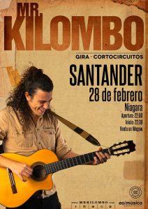 Mr.Kilombo en Santander