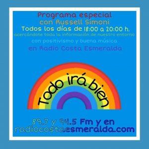 Programa de Radio en Directo con Russell Simoni de 18 a 20 horas